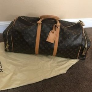 Louis Vuitton limited edition duffle